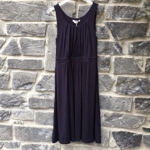 Boden Navy Blue Casual Scoop Neck Dress